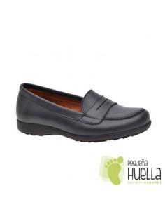 Zapato Colegial Mocasín Azul