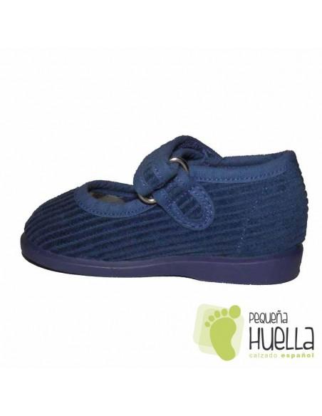 Zapatillas Niña Casa Pana Azul Jeans ZAPY