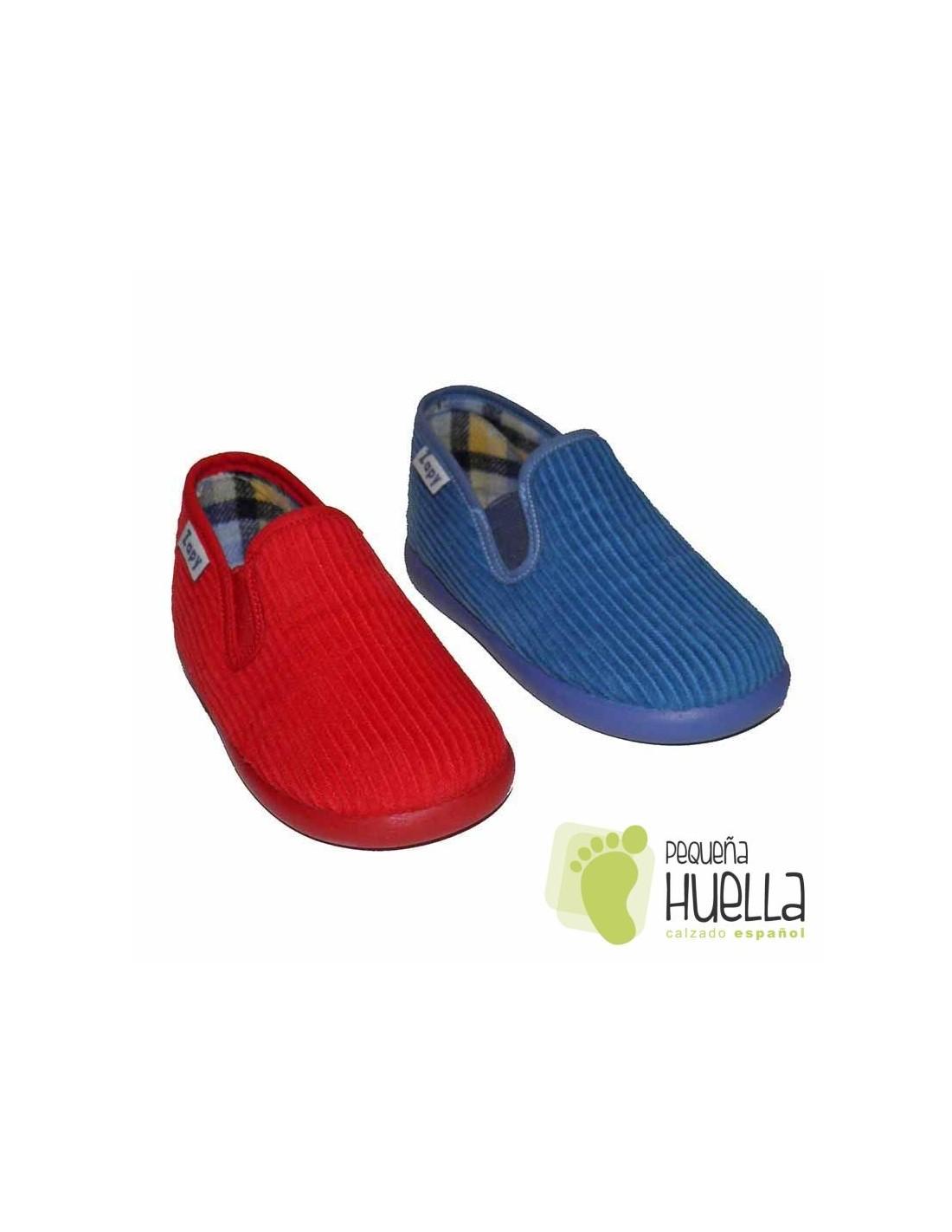 3428295872f Comprar zapatillas de pana para casa de niños en Madrid y online