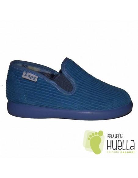 Zapatillas Pana Azules para Casa de Niños y Niñas