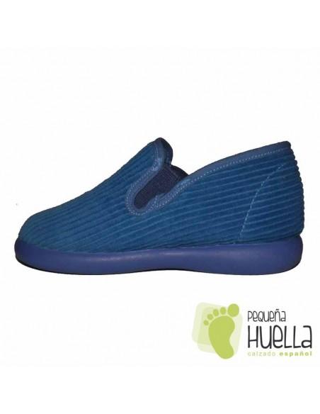Zapatillas Pana Azules para Casa de Niños