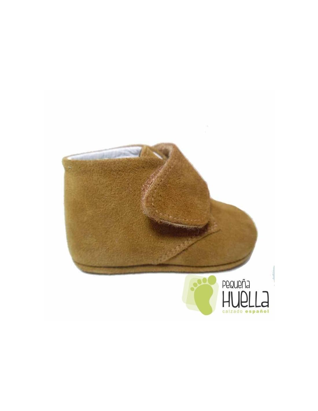efdaac99b59c9 Comprar botitas serraje para bebe con velcro Online