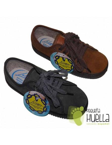 Zapatillas para Niños LA CADENA Suela Gorda