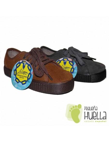 Zapatillas para Niños y Niñas LA CADENA con Cordones