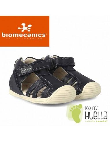 mejor selección 57ceb 679b2 Comprar sandalias para niño de piel azules Biomecanics en Madrid