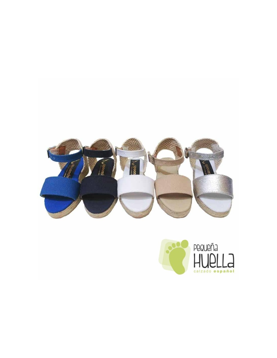 6d693e306 Comprar alpargatas tipo sandalias con cuña de yute para niña y mujer