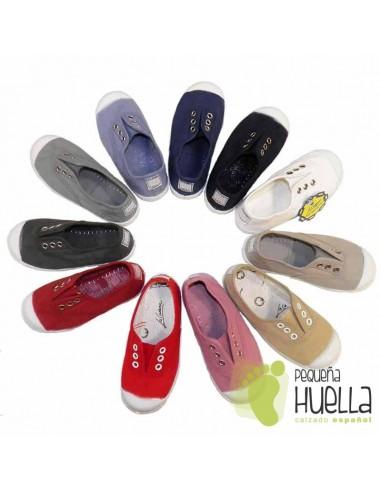 87bf3fd82 Comprar zapatillas LA CADENA de lona para niños y niñas online