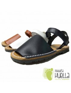 Abarcas Menorquinas para niños y niñas con Velcro