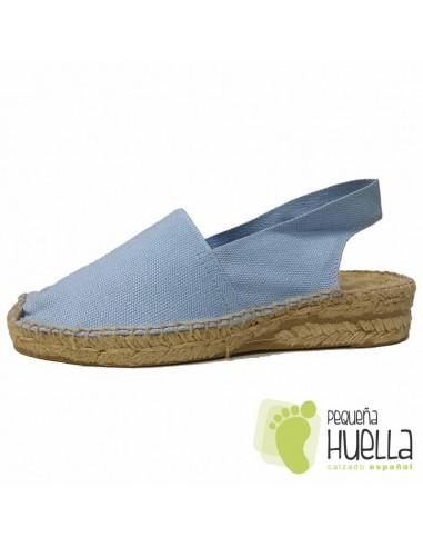 Alpargatas Azul Celeste