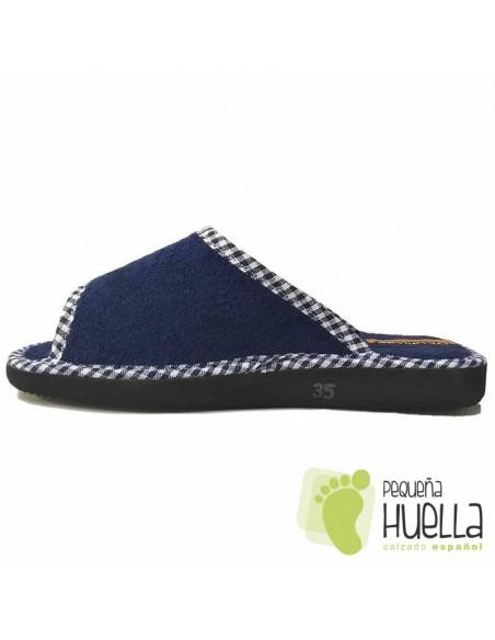 Zapatillas de Toalla planas para Casa Doctor Cutillas