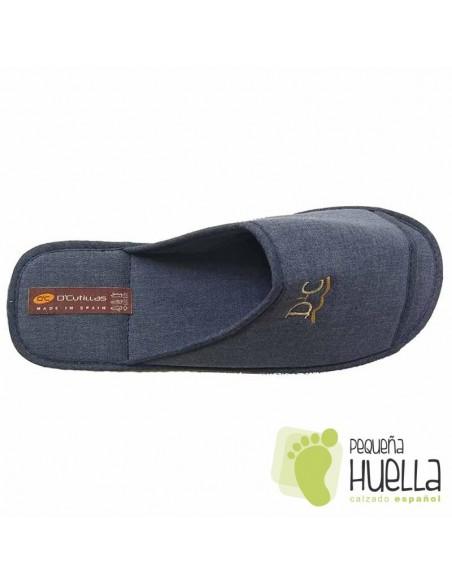 Zapatillas de lino para Casa Doctor Cutillas 12251