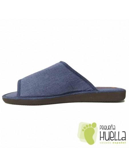 Zapatillas de lino para hombre Casa Doctor Cutillas 12251