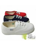 Zapatillas de Lona con Cordones Javer 60