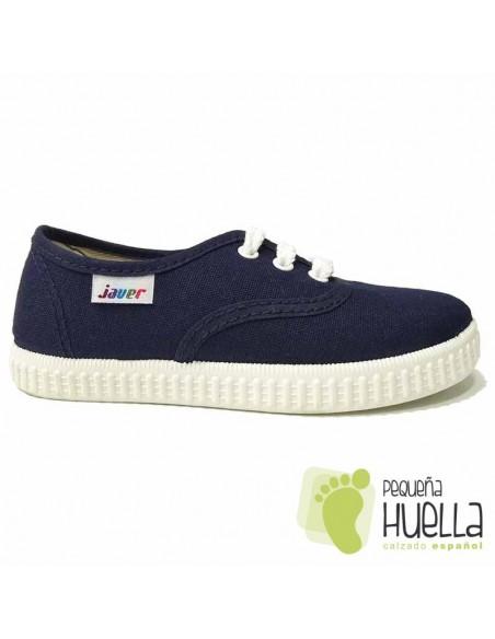 Zapatillas de Lona Azul Marino