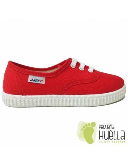 Zapatillas de Lona Rojas