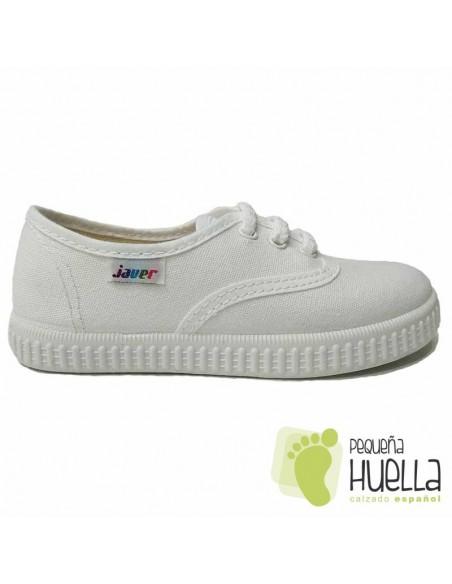 Zapatillas de Lona Blancas