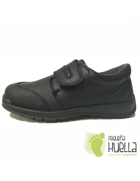 Zapatos para el colegio con velcro. Titanitos Zeus
