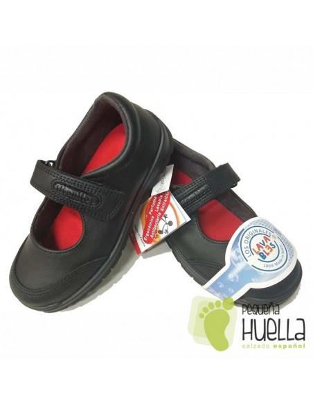 Zapato Colegial Lavable  de Niña Titanitos Atenea C840