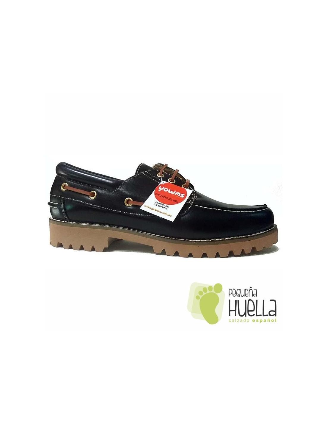 a9b43407c ... Zapatos Náuticos Azules de Niños y Niñas con Cordones YOWAS 6167 ...