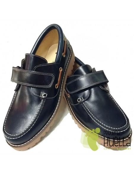 Zapatos Náuticos Azules para niños y niñas  YOWAS 6166