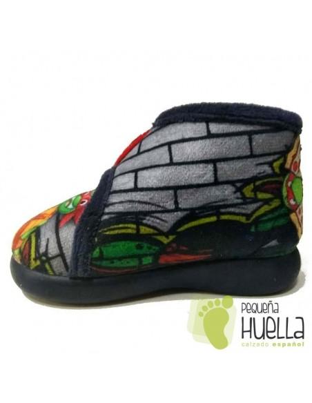 Zapatilla Casa Niño Tortuga Ninja Zapy