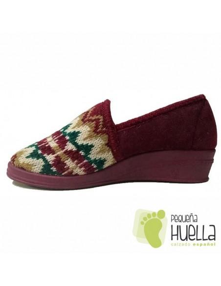 Zapatillas de lana para Casa de Mujer Dr Cutillas