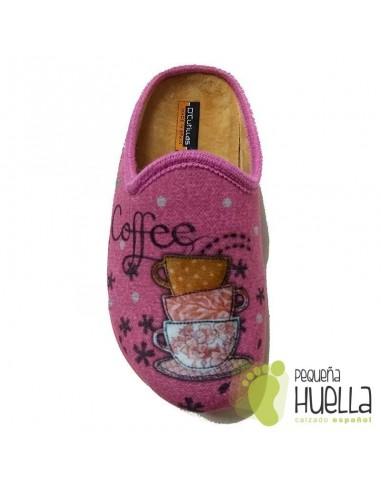 Zapatillas para Casa de Mujer Dr Cutillas