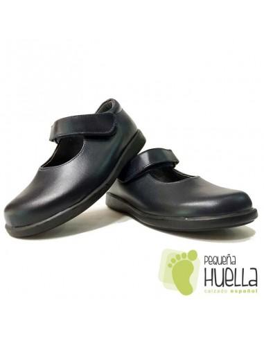 Zapato Colegial Azul Marino para Niña Velcro Dar2 149