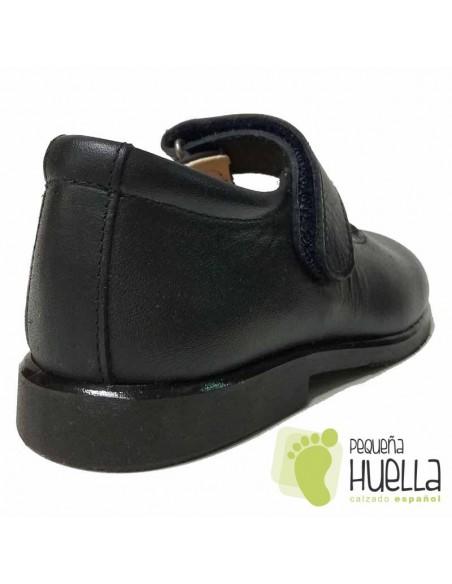 Zapato Colegial Niña Velcro Gulliver 3095
