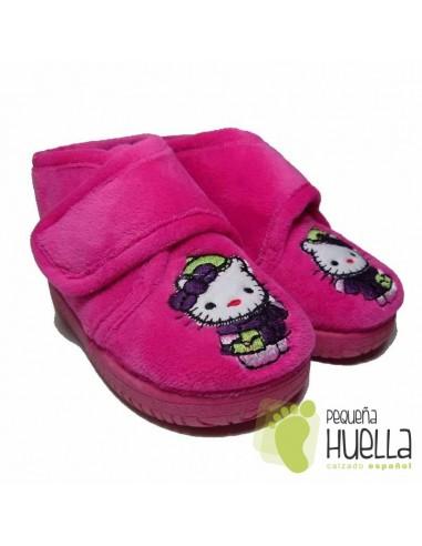 Zapatillas Fucsia Hello Kitty