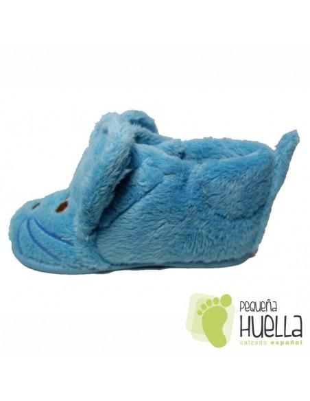 Zapatilllas de Casa Ratoncito Celestes Azul Celeste
