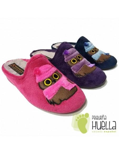 Zapatillas de Casa para Mujer Invierno