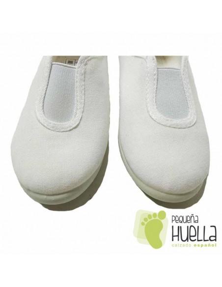 Zapatillas de Gimnasia  Blancas