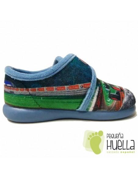 Zapatillas de Casa Cars para Niños con Velcro Zapy