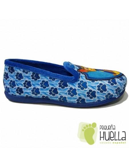 Zapatillas Niños de Casa Patrulla Canina Azules