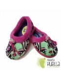 Zapatillas de Casa para Niñas Monster Rosa