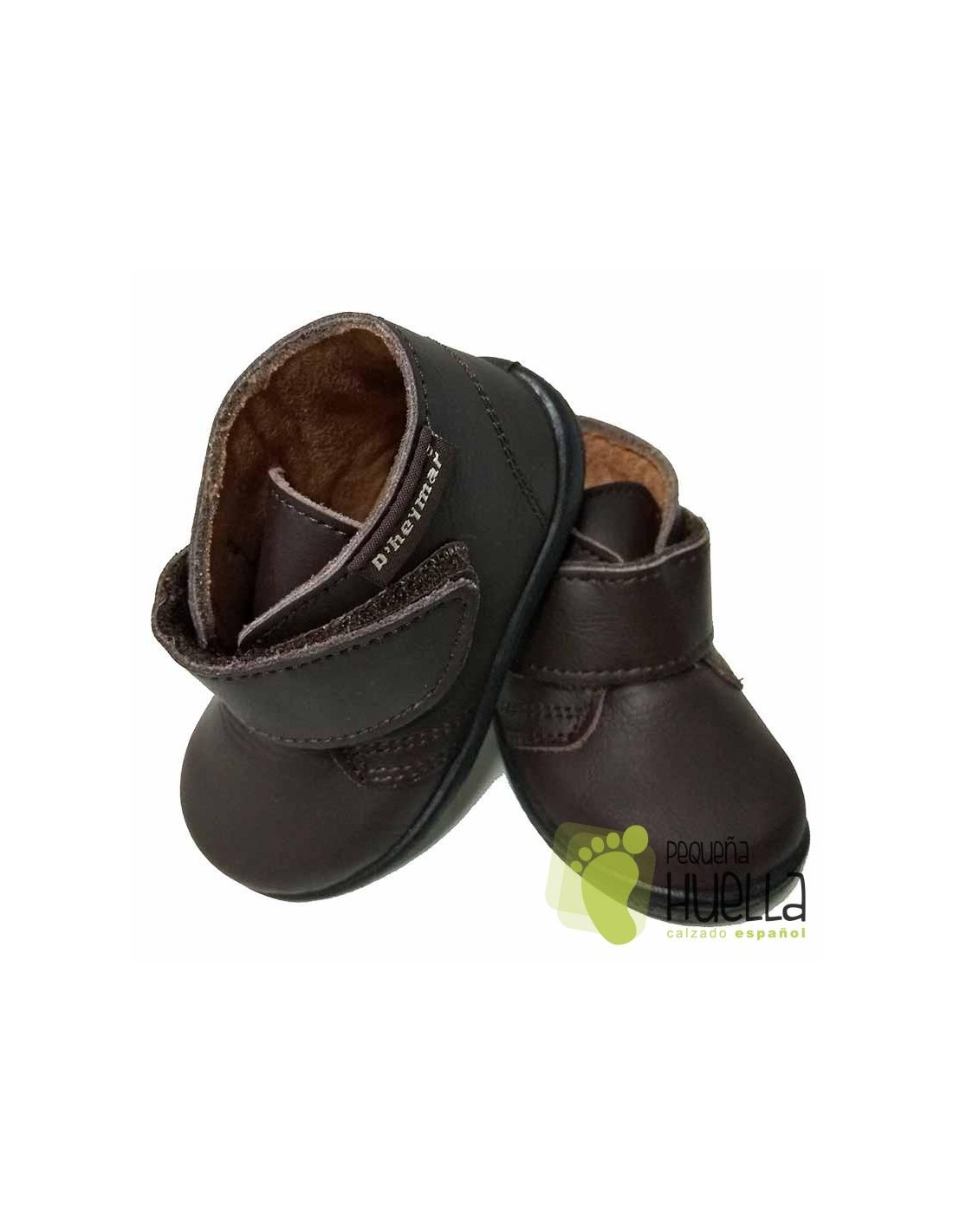 3a98694a6 Comprar Botas de Piel con Velcro Para Bebés en Madrid y Online