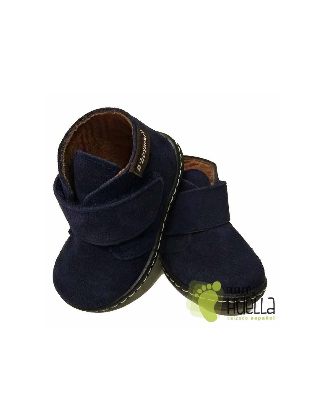 018ac8464 Comprar Botas de Piel serraje con Velcro para Niños en Madrid y Online