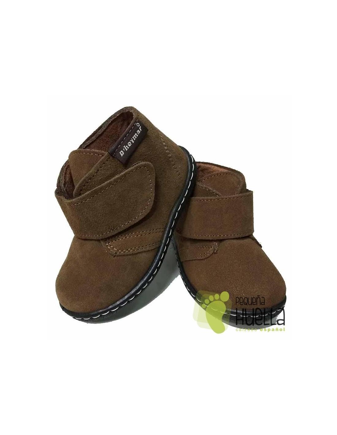 49efa2cd68d Comprar Botas de Piel serraje con Velcro para Niños en Madrid y Online