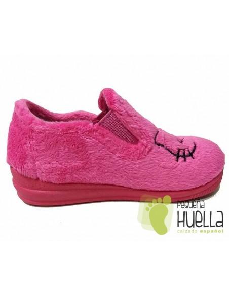 Zapatillas Casa Niñas Hello Kitty Rosas