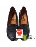 Zapato Colegial Mocasín Azul YOWAS 190