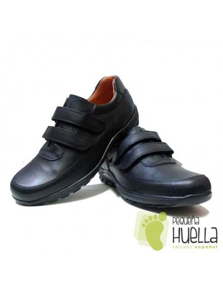 Zapatos Colegiales talla grande, YOWAS 5087