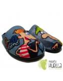 Zapatillas Casa Phineas y Ferb
