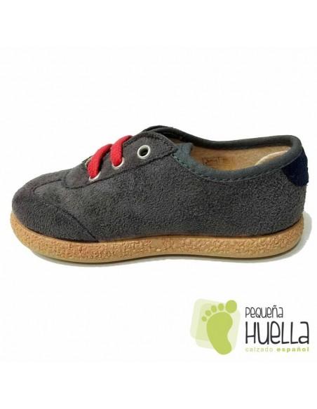 Zapatillas Blucher Grises