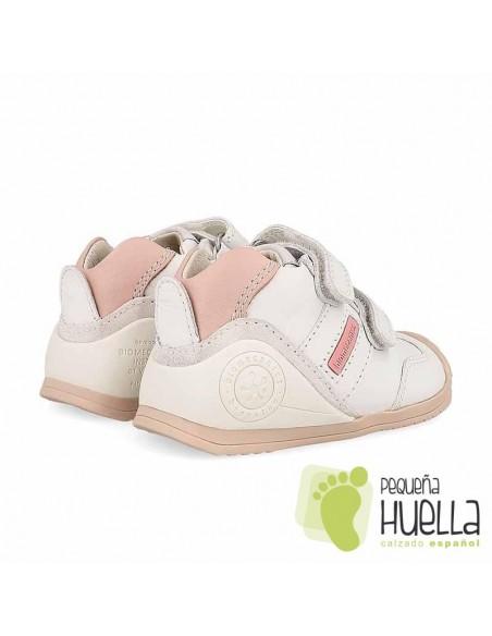 Deportiva Bebé Blanca y Rosa Biomecanics 151157