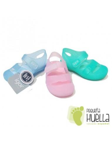 Zueco o Sandalia de Goma para el Agua de niños y niñas IGOR