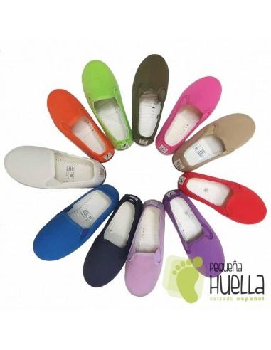 Zapatillas Gimnasia, Chinas o Kung fu para niños y niñas