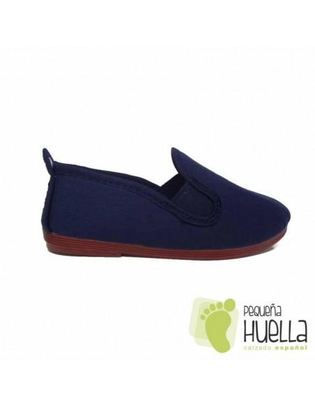 Zapatillas Kung fu Azul Marino