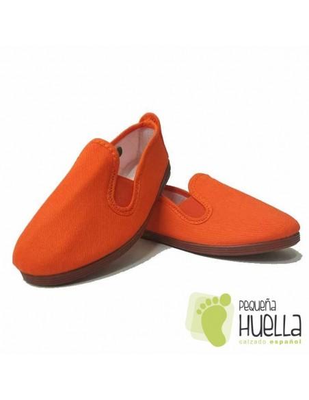 Zapatillas Kung fu Naranjas