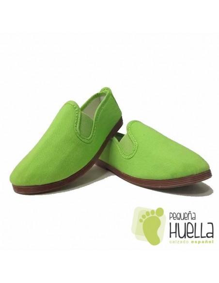 Zapatillas Kung fu Verde Pistacho